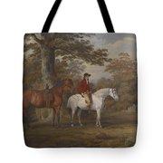 Hunter and Huntsman Tote Bag by George Gerrard
