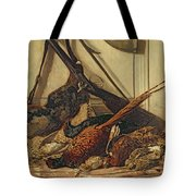 Hunting Trophies Tote Bag by Claude Monet