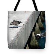 Hurry Back Mum Tote Bag by Aidan Moran