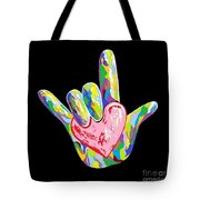 I Heart You Tote Bag by Eloise Schneider