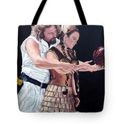 I Just Dropped In Tote Bag by Tom Roderick