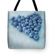 I love blueberries Tote Bag by Priska Wettstein