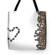 I Love Coffee Tote Bag by Joana Kruse