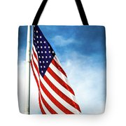 I Pledge Allegiance Tote Bag by Shelby  Young