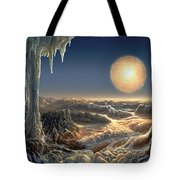 Ice World Tote Bag by Don Dixon