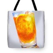 Iced Tea Tote Bag by Jai Johnson
