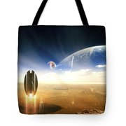 Idea Taken From Star Trek. The Project Tote Bag by Tobias Roetsch