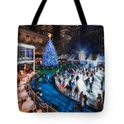 If I Could Make December Stay Tote Bag by Evelina Kremsdorf