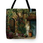 Il Giardino Francese Tote Bag by Guido Borelli
