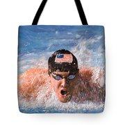 Il Nuotatore Tote Bag by Guido Borelli