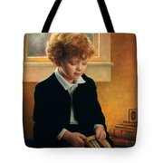 I'm Trying To Be Like Jesus Tote Bag by Greg Olsen