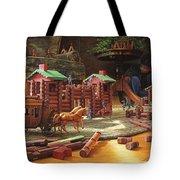 Imagination Final Frontier Tote Bag by Greg Olsen