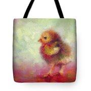 Impressionist Chick Tote Bag by Talya Johnson