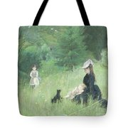 In A Park Tote Bag by Berthe Morisot