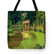 In A Park Tote Bag by Edouard Manet