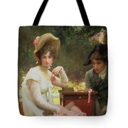 In Love Tote Bag by Marcus Stone