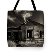 In Ruin Tote Bag by Mike  Dawson
