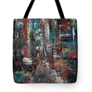 In The City Tote Bag by Frances Marino