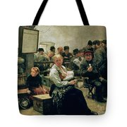 In The Land Of Promise Tote Bag by Charles Frederic Ulrich