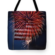 Independence Day Tote Bag by Skip Willits