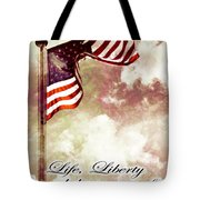 Independence Day USA Tote Bag by Phill Petrovic