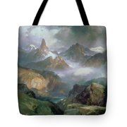 Index Peak Tote Bag by Thomas Moran