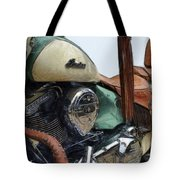 Indian Chief Vintage L Tote Bag by Michelle Calkins