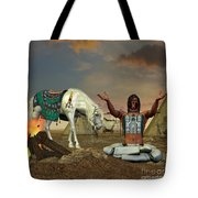 Indian Cry For Rain Tote Bag by Corey Ford