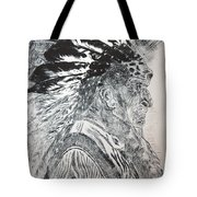 Indian Etching Print Tote Bag by Lisa Stanley