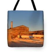 Industrial Site 1 Tote Bag by Douglas Barnett