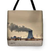 Industrialscape Tote Bag by Evelina Kremsdorf