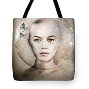 Inner World Tote Bag by Jacky Gerritsen