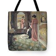 Interior Tote Bag by Felix Edouard Vallotton