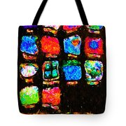 Iphone In Abstract Tote Bag by Wingsdomain Art and Photography