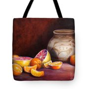 Iranian Still Life Tote Bag by Enzie Shahmiri