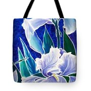 Iris Tote Bag by Francine Dufour Jones