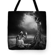 Is There Anybody Out There? Tote Bag by Erik Brede