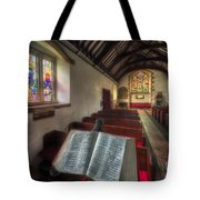 Isaiah 59 Tote Bag by Adrian Evans