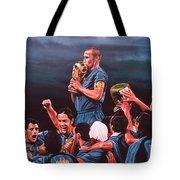 Italia The Blues Tote Bag by Paul Meijering