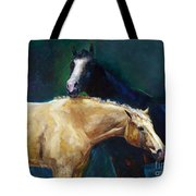 I've Got Your Back Tote Bag by Frances Marino