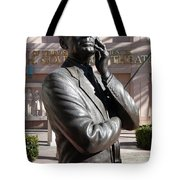 Jack Benny Tote Bag by Jeff Lowe