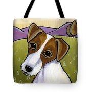 Jack Russell Tote Bag by Leanne Wilkes