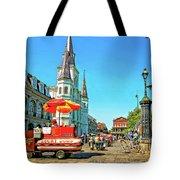 Jackson Square Tote Bag by Steve Harrington