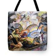Jacob's Dream Tote Bag by Guri Stark