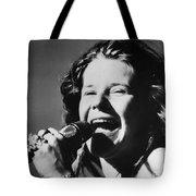 JANIS JOPLIN (1943-1970) Tote Bag by Granger