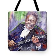 Jazz B B King 06 Tote Bag by Yuriy  Shevchuk