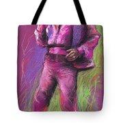 Jazz James Brown Tote Bag by Yuriy  Shevchuk