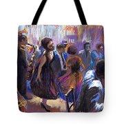 Jazz Tote Bag by Yuriy  Shevchuk