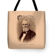Jefferson Davis Vintage Advertisement Tote Bag by War Is Hell Store