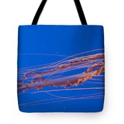 Jelly Fish Tote Bag by Darcy Michaelchuk